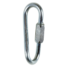 CT KARABINER-ZPLATED STEEL D8 QUICK-L TWIST